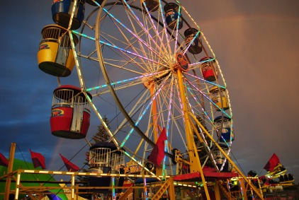 Ferris wheel, Apollo Bay 2014