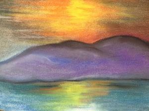 sunset Skenes Creek