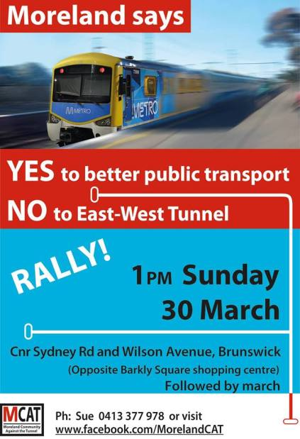 Moreland Says No to EW Tunnel