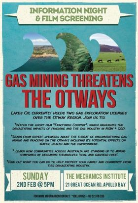 Gas Mining Threatens The Otways